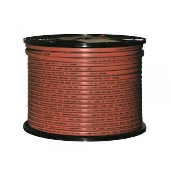 Греющий кабель саморегулирующийся для обогрева кровли, водостоков и взрывоопасных зон (с защитным экраном) xLayder EHL40-2CR RST, 40 Вт/м.п.