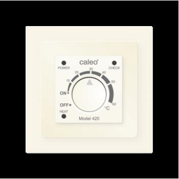 Терморегулятор CALEO 420 бежевый (встраиваемый) - 3,5 кВт