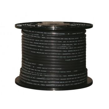 Греющий кабель саморегулирующийся для обогрева кровли, водостоков и труб (с защитным экраном) xLayder EHL30-2AR RST, 30 Вт/м.п.