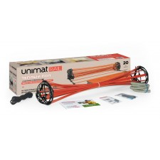 Теплый пол UNIMAT RAIL-100 стержневой, инфракрасный - 1 м2