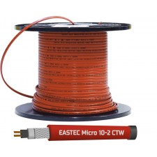 Греющий кабель для обогрева внутри трубы (в т.ч. с питьевой водой) EASTEC MICRO 10-CTW, 10 Вт/м.п.