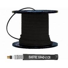 Греющий кабель для обогрева кровли и водостоков EASTEC GR 30-2 CR, 30 Вт/пог м